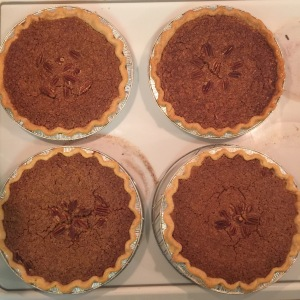 Four Finished Pies