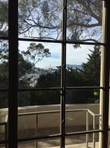 Love this view from the first floor of Coit Tower.