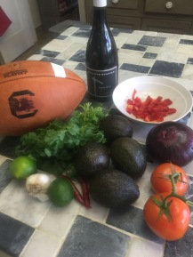 Everything you need. Good for tailgating or drinking Wright's Station's Pinot Nior!