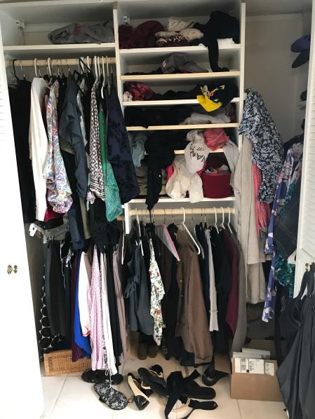 Her closet.